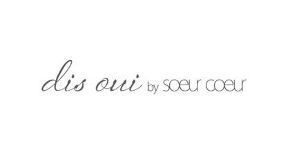 Logo dis oui by Soeur Coeur